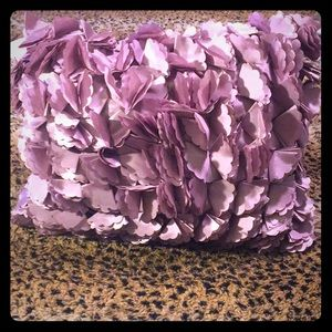2 Purple Silk Throw Accent Pillows 💜